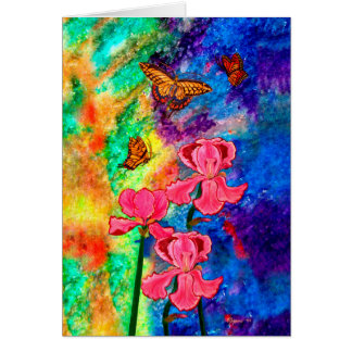 Swallowtail Attraction Greeting Card