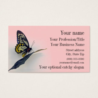 Swallowtail Butterfly Design Business Card