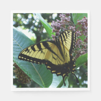 Swallowtail Butterfly I on Milkweed at Shenandoah Disposable Napkins