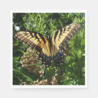 Swallowtail Butterfly III Beautiful Colorful Photo Paper Napkins