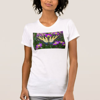 Swallowtail Butterfly on daisy T-Shirt