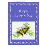 Swallowtail Butterfly on Hydrangea Flower art Greeting Card