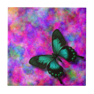 Swallowtail Butterfly Small Square Tile