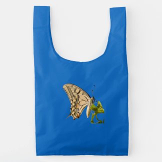 Swallowtail Butterfly Vector Isolated Baggu Reusable Bag