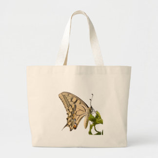 Swallowtail Butterfly Vector Isolated Jumbo Tote Bag