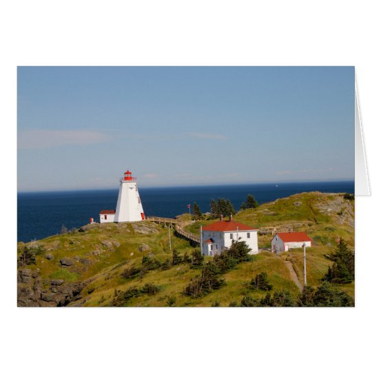 Swallowtail Lighthouse, Grand Manan, NB Card