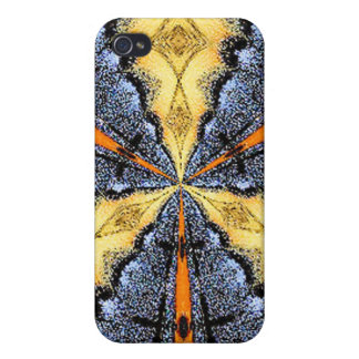 Swallowtail Medallion Covers For iPhone 4