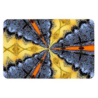 Swallowtail Medallion Rectangular Photo Magnet