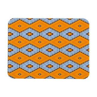 Swallowtail Pattern Rectangular Photo Magnet