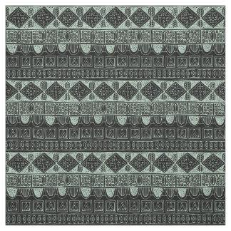 swallowtail stripe mint black fabric