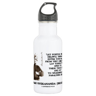 Swami Vivekananda Positive Strong Helpful Thoughts 532 Ml Water Bottle