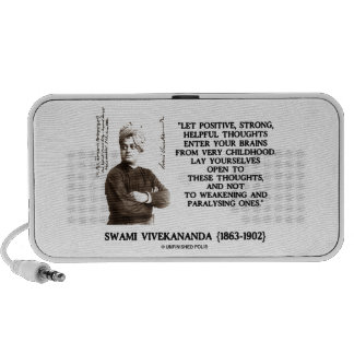 Swami Vivekananda Positive Strong Helpful Thoughts iPhone Speaker