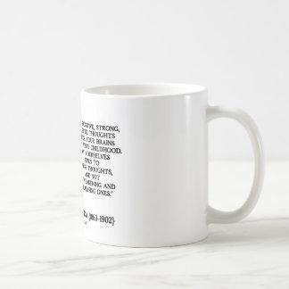 Swami Vivekananda Positive Strong Helpful Thoughts Basic White Mug