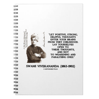 Swami Vivekananda Positive Strong Helpful Thoughts Note Books