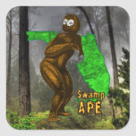 Swamp Ape Sticker