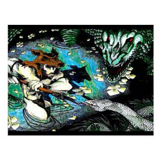 Swamp Barbarian Postcard