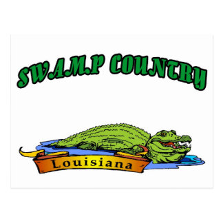 Swamp Country Louisiana Post Cards
