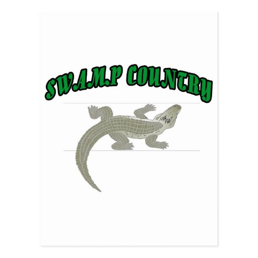 Swamp Country Postcard