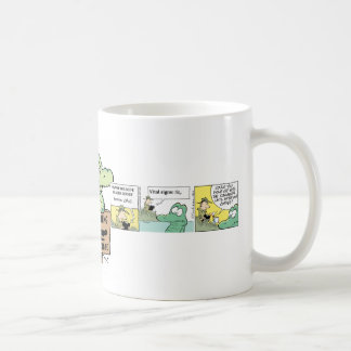 Swamp Crocodile Cartoon Coffee Mug