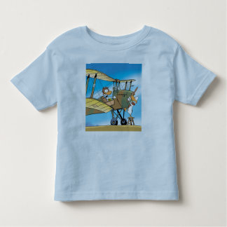 Swamp Ding Duck Biplane  Toddler T-Shirt