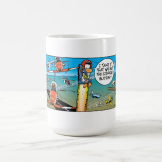 Swamp Ding Duck Ejector Seat Coffee Mugs