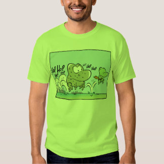 Swamp Frogs Funny Cartoon Shirts