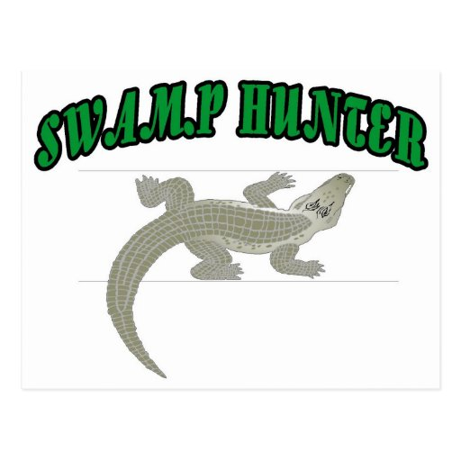 Swamp Hunter Post Card