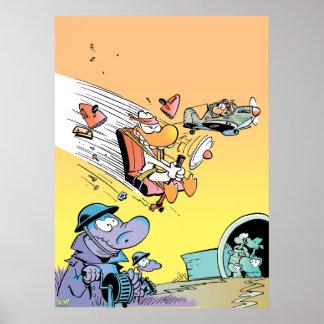 Swamp Kamikaze WW2 Poster