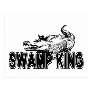 Swamp King Postcard