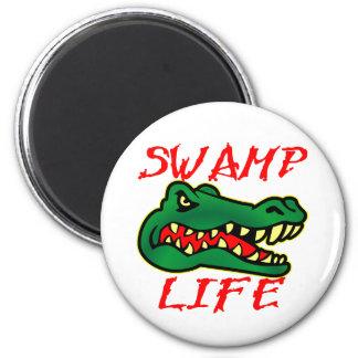 Swamp Life Alligator Magnet