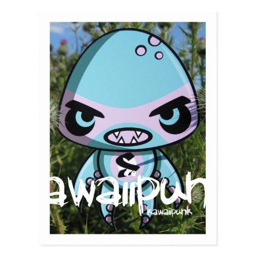 Swamp Mascot Postcard