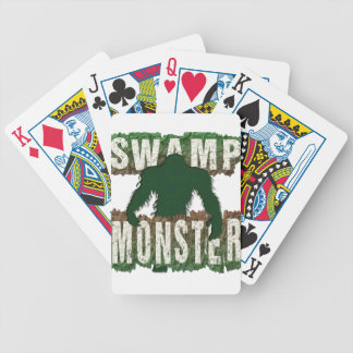 SWAMP MONSTER POKER DECK