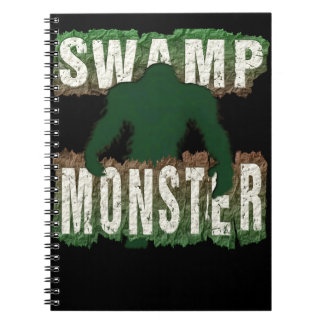 SWAMP MONSTER SPIRAL NOTE BOOK