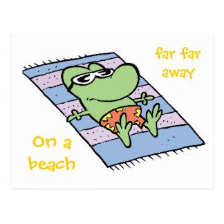 Swamp Mort The Frog Postcard