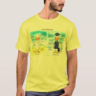 Swamp Pilot and Amateur Pilot Differences T-Shirt