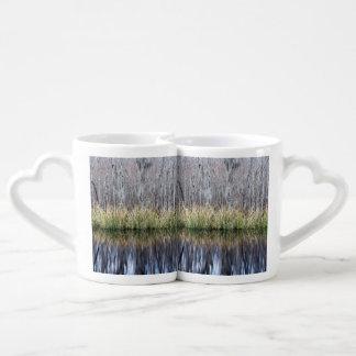 Swamp Reflection Couple Mugs