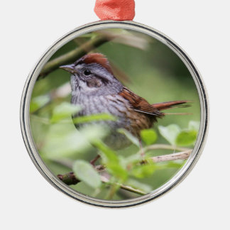 Swamp Sparrow Christmas Ornament