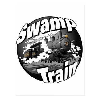 Swamp Train Post Card