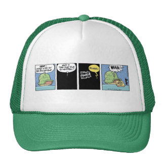 Swamp Turtle Pizza Delivery Trucker Hat