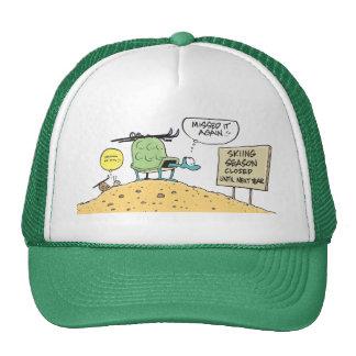 Swamp Turtle Ski Season Cap Trucker Hat