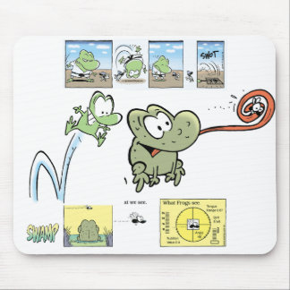 Swamp Wart The Frog Mousepad