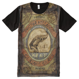 Swamp Water All-Over Print T-Shirt
