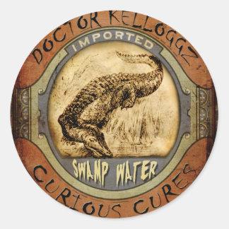 Swamp Water Round Sticker