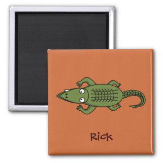 Swampthing the alligator magnet