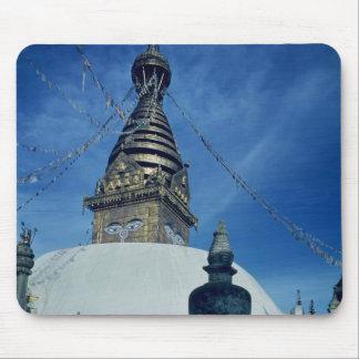 Swamyambunath Stupa Mouse Pad