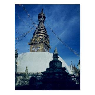 Swamyambunath Stupa Postcard