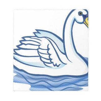 Swan #5 notepad