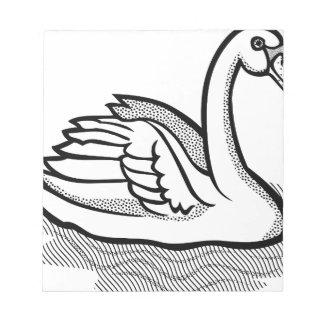 swan #6 notepad