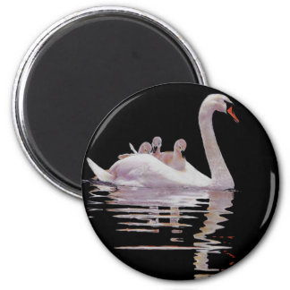 SWAN AND BROOD MAGNET