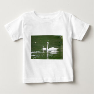 Swan and her Cygnet Baby T-Shirt